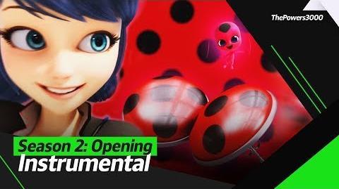 Miraculous Ladybug Season 2 — Opening Sequence Instrumental (Korean version)
