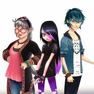 Couffaine Family Concept Art