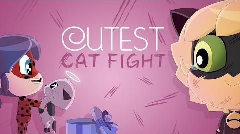 MIRACULOUS CHIBI - CUTEST CAT FIGHT