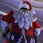 Santa Claws Square