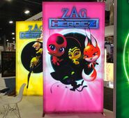 Zag Heroez Queen Bee and Kwamis posters