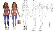 Alya outfit concept art