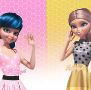 Marinette and Chloe dress