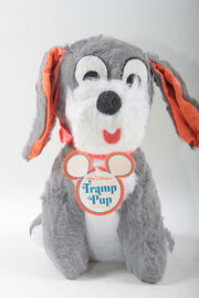 Tramp plush-etsy