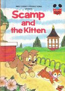 Scamp and the kitten