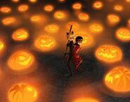 LB in Halloween