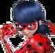 Ladybug transparent