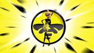 Queen Bee Verwandlung Hintergrund