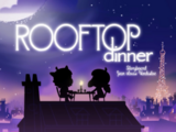Dinner über den Dächern