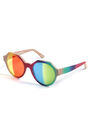 Marco de Vincenzo - F15RTWC - Rainbow geometric-frames