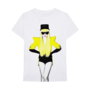Fame Merch Caution T-shirt Front