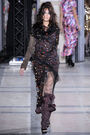 Vivienne Westwood - Fall 2009 RTW - Embroidered sheer dress