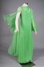 Stavropoulos - Diaphanous silk chiffon gown 1960-70's