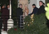 1-12-14 Leaving the Golden Globe Awards - After Party 001