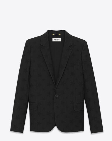 File:Saint Laurent - Breasted jacket in stars virgin wool jacquard.jpg