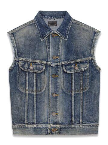 File:Saint Laurent - Sleeveless denim jacket.jpeg