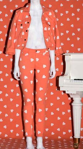 File:Jeremy Scott Spring 2009 RTW Orange Printed Denim Ensemble.jpg
