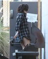 10-1-13 Arriving at Recording Studio in LA 001