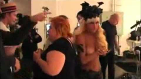 Behind the Scenes of Matthew Rolston 2009 Photoshoot