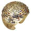 Cartier - Lights of the World gold cuff