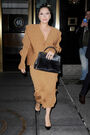 12-3-14 Leaving her apartment in NYC 002