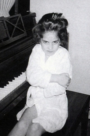 Young Gaga at Piano