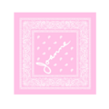 Joanne Merch pink bandana