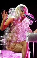 LadyGaga-Bubble-Dress