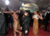 Arriving at Grammys 021