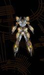 Asher Levine - Custom Sci-Fi circuit suit board