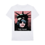 Fame Merch Statue of Liberty White T-shirt