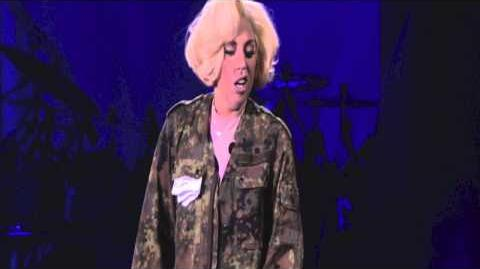 """Lady Gaga - """"What's Up"""" 4 Non Blondes Live Cover at -artRaveVienna"""