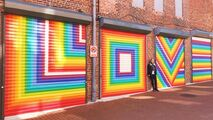 11-20-17 Lisa Marie Thalhammer's ''LOVE'' murals at Blagden Alley in Washington 001