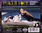 Lady Gaga-Poker Face (The Remixes) (CD Single)-Trasera