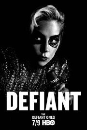 The Defiant Ones Gaga poster