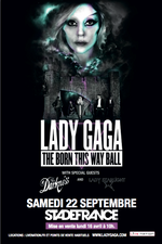 9-22-12 The Born This Way Ball Poster