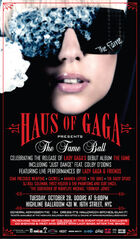 10-28-08 The Fame Ball release party poster