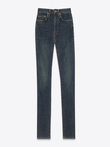 File:Saint Laurent - High waisted skinny blue stretch denim.jpg