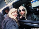 12-9-11 Arriving at Madison Square Garden
