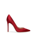 Gianvito Rossi - 105 satin red pump