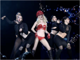 Performing at the Jingle Bell Ball