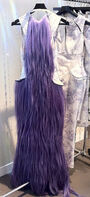 Charlie Le Mindu Fall 2012 Purple Hair Dress
