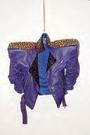 Haus of Gaga Purple Studded Jacket