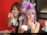 8-6-09 Japan with Perez Hilton 1