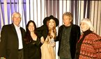10-9-12 Backstage at LennonOno Grant For Peace Awards. Reykjavik 013