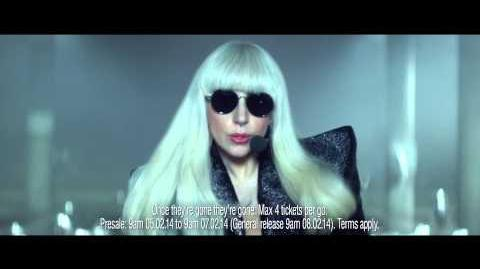 ArtRave O2 Priority Tickets TV ad