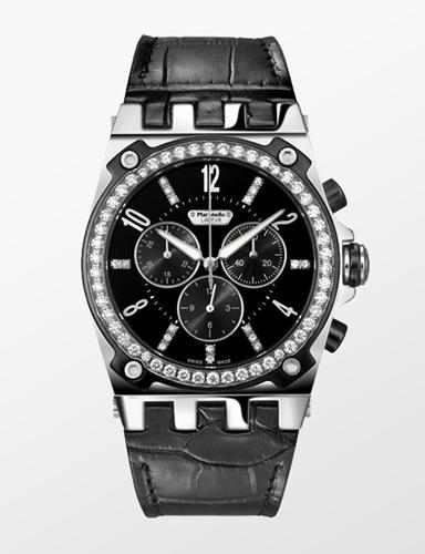 File:Maranello V8 Lady Diamonds Chronograph in black.jpg