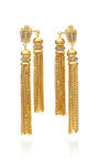House Of Lavande - ''Sunset'' double tassel earrings