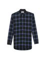 YSL - Blue plaid shirt