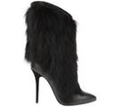 Giuseppe Zanotti - Fox fur black boot